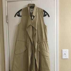 Gap trench vest coat